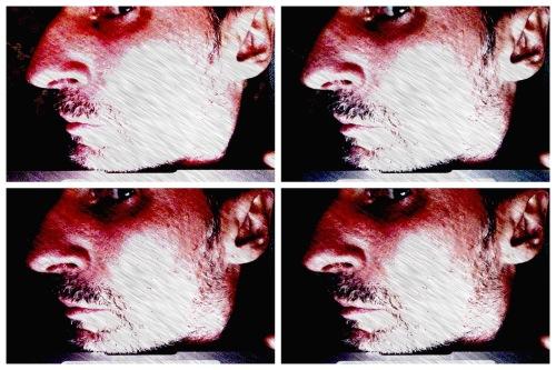 2016 05 20 Self-Portrait - Rat-Faced Man (4x4)